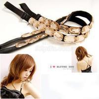 Vivi - stone gem shoulder strap transparent tape bra shoulder strap