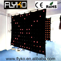 Free shipping p18 4x3m Super brightness P18 intdoor full color led video wall