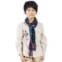 Male child autumn long-sleeve shirt child shirt children's clothing 2013 vw
