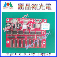 Free Shipping RJ45 network  port single & double color led display sign module control card system 800*128dots