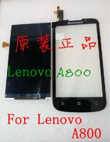 Lenovo A800  display screen ,Lenovo A800 Original LCD 100% Original Genuine +Free shipping