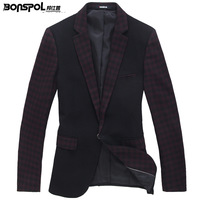 Spring men's clothing new arrival blazer casual male slim blazer suit male outerwear male