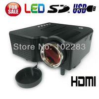 New !! Mini AV LED Digital Video Game Projector with Remote control Multimedia player Inputs HDMI AV VGA USB SD card
