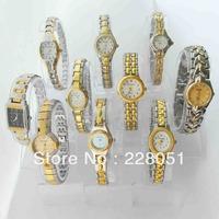 free shipping 10pcs/lots HOT GIFT New Fashion gold Ladies Women's Girls Analog Dress Quartz Gift Bracelet Wrist Watches C51