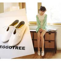 Freeshipping women's single shoes flat heel fashion Flats shoes