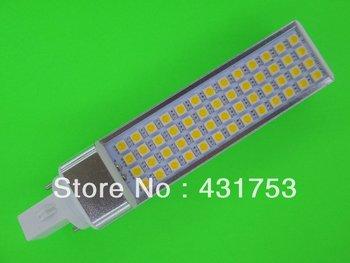 LED Bulb 11W E27 G24 5050 SMD 52 LED Corn Light Lamp Cool White/Warm White AC 85V-265V Side lighting( High Brightness )