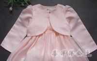 Mikarden london child princess dress pink coat shrug