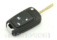 3 Buttons Remote Flip Folding Key Shell Case For Ford Focus Fusion Fiesta KA Suit 3BT