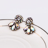 Latest top Fashion fashion accessories exquisite all-match vintage small stud earring  statement jewelry