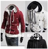 Free shipping High Collar Men's Jacket Top Brand ,Men's Dust Coat Hoodies Clothes M L XL XXL N0169