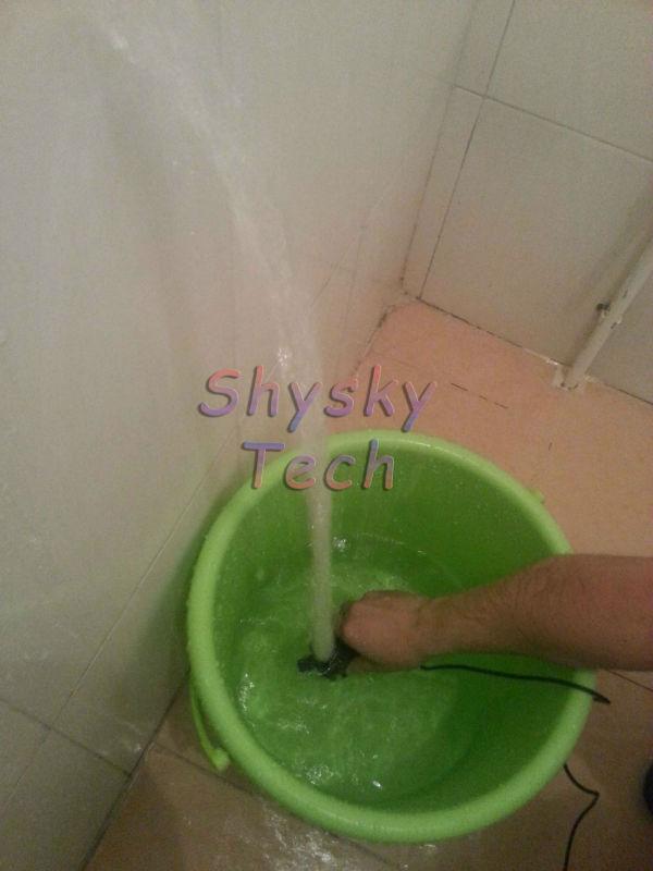 2pcs/lot 5-12vdc bürstenlose dc pumpe 450 lph 5m tauchpumpe wasserdicht rauscharme für wasserkreislauf
