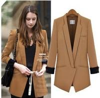 Europe WOMAN SUIT BLAZER JACKET women clothes suit shrug Coat