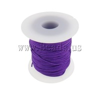 Free shipping!!!Nylon Cord,Jewelry Accessories, purple, 1.2mm, Length:Approx 50 Yard, Sold By PC