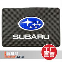 Forester SUBARU xv Large car glove refires slip-resistant pad instrument phone non slip pad