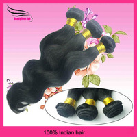 "Alibaba Express Indian VirginHair, Beauty Queens Hair Products, Body Wave, 3pcs Lot 12""-28"" Grade 5A, DHL Free Shipping"