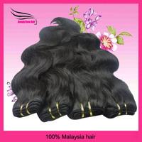 "Grade 5A Virgin Malaysian HumanHair Weave Body Wave Mix Length 4 pcs Lot 12""-28"" Natural Unprocessed Color #1B Free Shipping"