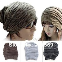 Winter Warmer Knitting Ski Slouch Hip-hop Beret Beanie Baggy Crochet Hat Cap NEW