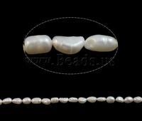 Free shipping!!!Baroque Cultured Freshwater Pearl Beads,Wholesale Jewelry, 6-7mm, Hole:Approx 1mm, Length:15 Inch