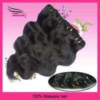 Malaysian VirginHair,Body Weave, Remy Hair Weft , 4 pcs Lot, Natural Black #1B,Grade 5A, DHL Free Shipping