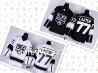 2013 men's ice hockey jerseys Los Angeles Kings #77 Jeff Carter Jersey, Embroidery, size M-3XL, hot sale