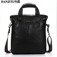 2014 New First layer of cowhide business handbag men's messenger bag genuine leather man handbags male shoulder bags male tote