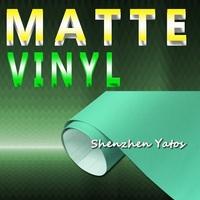3M Matte Mint Green Car Wraps Vinyl Matte Foil Wrap Air Bubble 1.52*30M