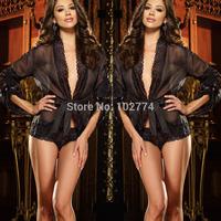 2014  fuchsia sexy lingerie  nightclub dress summer must-have Babydolls S68922