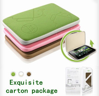 High Quality General Protective Sleeve Velvet Liner Case bag for 7' 10' tablet pc ,kindle pouch drop shipping