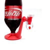 1PCS Coke Upside Down Red Water coke Soda Drinking Fridge Fizz Saver DispensereFREE SHIPPING E476