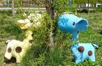 Стоимость доставки Аль плюшевые игрушки улитки 20 см, коричневый, зеленый, синий, розовый кукла, рождественские подарки низкая цена 8шт/1lot