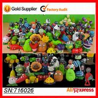 Plants VS Zombies Figure Set High Tenacity PVC  Action Figure Toys Gifts Plant Toys For Kids Baby Toy 32PCS/SET No Duplicate