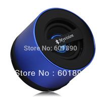 KB-11 Stereo Bluetooth Wireless HiFi TF Card Sound Box Music Player Mic Mini Speaker Blue wholesale free shipping #16080202