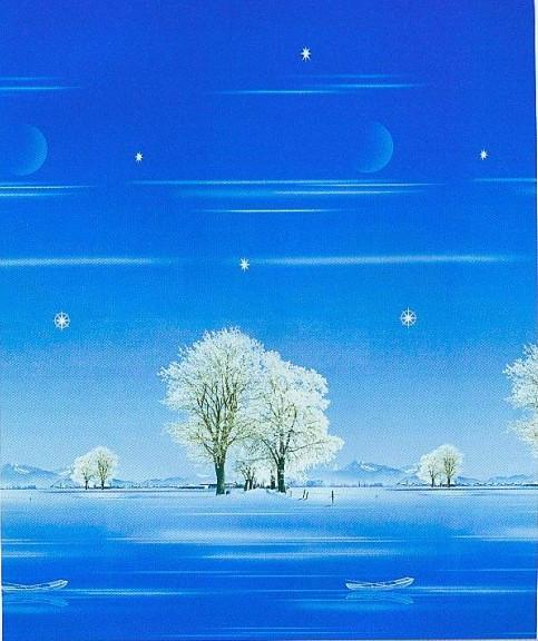 Pintura de paisagem persiana neve sombra cortina 15(China (Mainland))