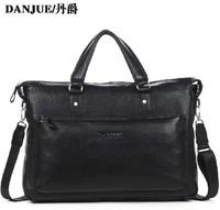2014 New Calf skin shoulder bag laptop men handbag business men's crossbody bags genuine leather man bag designer handbags
