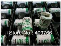 10PCS/LOT Original SAFT LS14250 14250 3.6V 1250mAh LiSOCL2 PLC battery with two pin Free Shipping