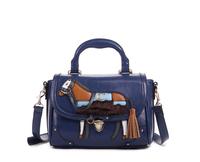 2014 bag lapalette vintage bag box one shoulder handbag messenger bag