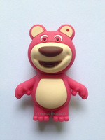 Cute bear model USB 2.0 Full Memory Stick Flash pen Drive 4G 8G 16G 32G P243 can exchange for other models