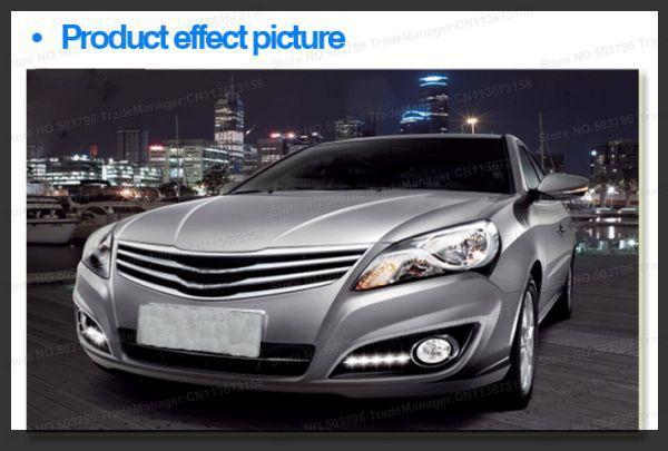 Free Shipping by EMS/DHL TOP Quality Emark DRL 2011 Hyundai Elantra running light/LED daytime driving lamp(China (Mainland))