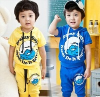 retail 2013 New Arrival babys casual hooded sports suits girls boys Cartoon clothing children Wizard suits kids clothes set