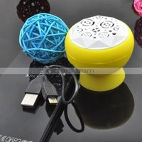 30pcs/Lot Wholesale Mini Portable Sucker Bluetooth Speaker Mix Color