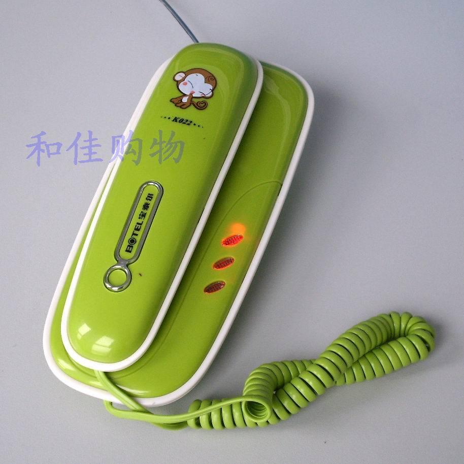 K022 telephone small extension set bread machine desktop dual-use 1958 bell lamp(China (Mainland))