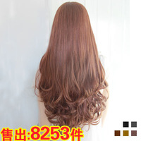 Jumbo roll wig big wave half wigs long curly hair fluffy female jiafa wigs