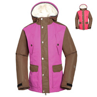 Ma thermal women's waterproof outerwear outdoor twinset berber fleece liner outdoor jacket