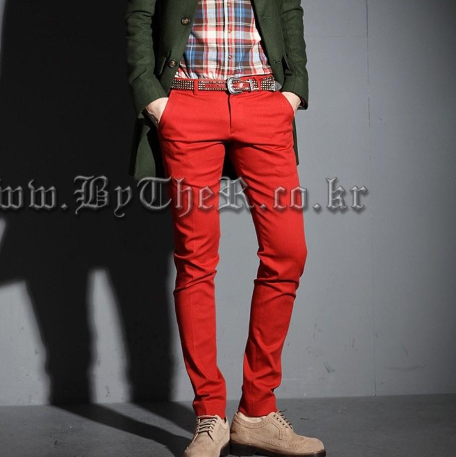 Mens Red Dress Pants