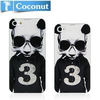 hard  case for iphone 5 design proctective cover /rock skull/ panda skull