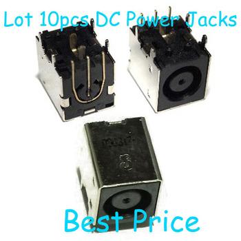 10pcs / Lot NEW AC DC Power Jack For ASUS W90 W90V W90V-1A W90VN W90VN-1A W90VP CONECTOR SOCKET