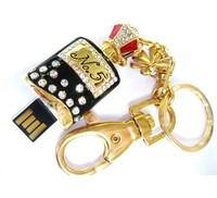 New Gift 2GB 4GB 8GB 16GB 32GB Guaranteed Full Capacity Crystal Perfume USB Flash Memory Drive Disk Free shipping  T012
