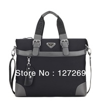 Men Business Bags 2013 New Fashion Synthetic Leather Computer Messenger Bag Casual Multifunction Laptop bags WB0031 Retail
