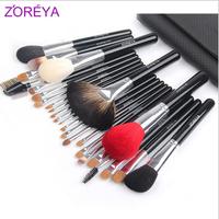 Zoreya 26 black needle brush set loose powder brush the professional make-up cosmetic tools cosmetic brush set