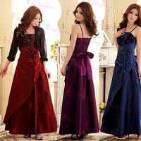 2013 fashion design long evening dress ktv welcome clothes t dress work uniforms